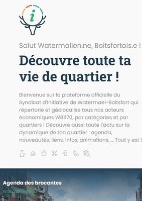 Un site web pour soutenir les acteurs économiques !